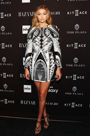 Gigi Hadid Balmain For Hm Dress Nyfw