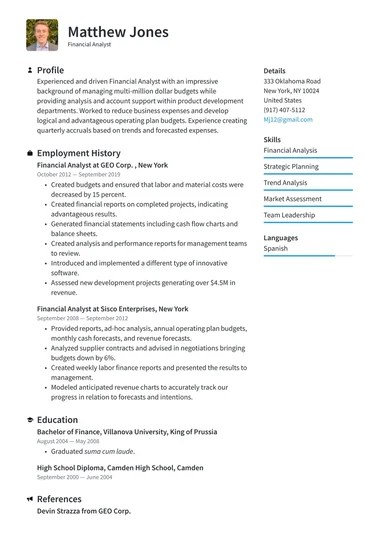 You simply use the tool out of the box and experience a swift page realization. Job Winning Resume Templates 2021 Free Resume Io