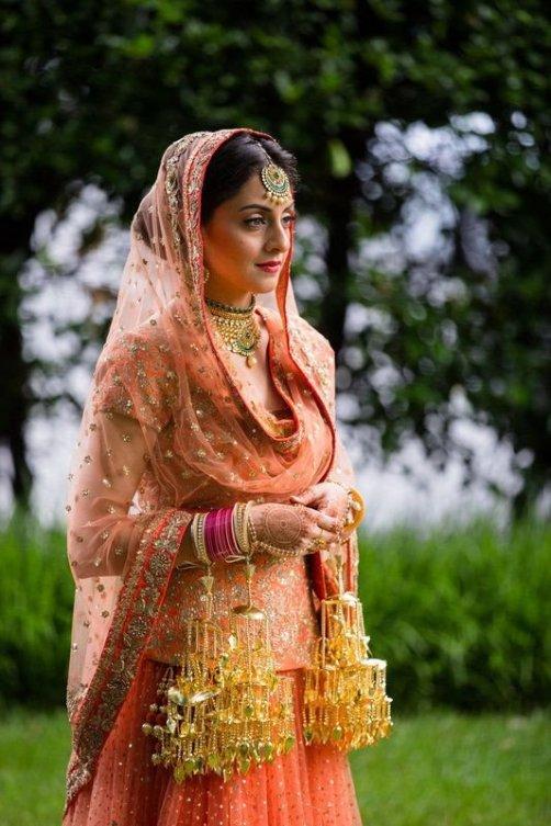 Indian bridal look: sikh bride