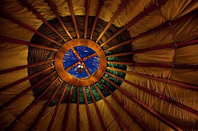 black isle yurts - tunduk