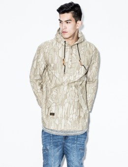 10.DEEP Muted Bark Tet Pullover Jacket Picture