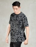 Play Cloths Black S/S Blocka T-Shirt Picture