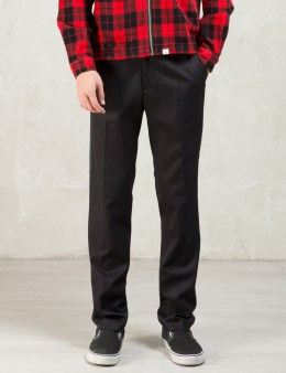 thisisneverthat Black Two Tone Trousers Picture