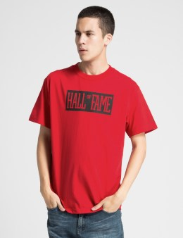 HALL OF FAME Red Your Name T-Shirt Picture