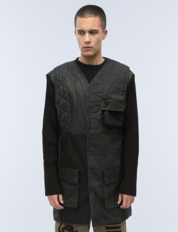 maharishi Upcycled Crew & Gillet Jacket Picture