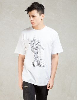Black Scale White Dance With The Devil T-shirt Picture