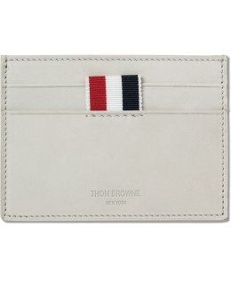 THOM BROWNE Nubuck Single Card Holder Picture