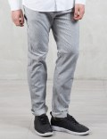 Carhartt Work In Progress Rinsed 6.6oz Hickory Stripe Ruck Single Knee Pants Picture