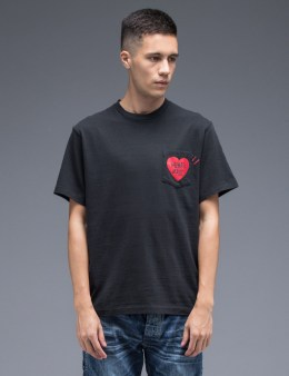 "Human Made ""Heart"" Pocket T-Shirt Picture"