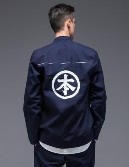 The Common-Folk Osaka Indigo Yukata Kimono Jacket Picture