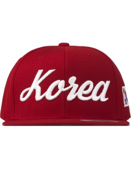 8MM Red Korea Snapback Picture