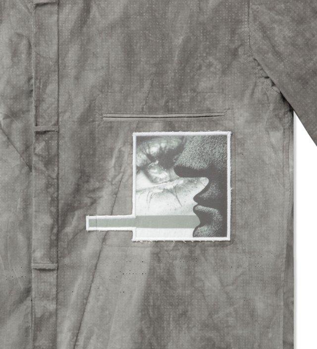 Damir Doma Slate Grey SALIX Collarless Shirt