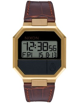 Nixon Re-Run Leather Croc with Gold Case Picture