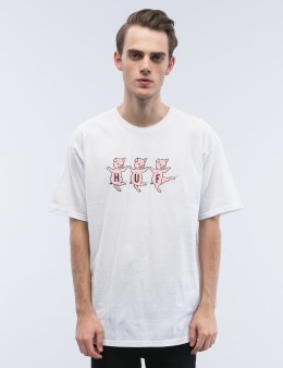 HUF Three Little Pigs S/S T-Shirt Picture