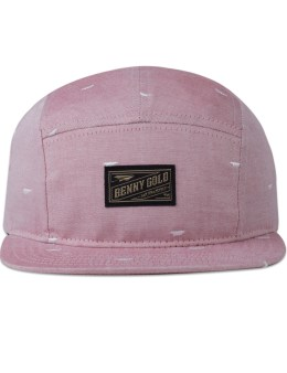 Benny Gold Paper Plane Pattern 5 Panel Cap Picture