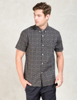 Stussy Black Dot Outline Shirt Picture
