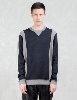 VALLIS BY FACTOTUM Two Tone Sweatshirt Picture