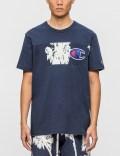 Champion Reverse Weave Palm Beach Applique Logo S/S T-Shirt Picture