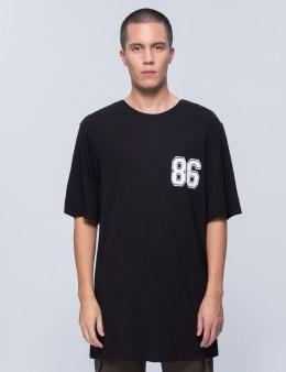 HELMUT LANG Oversized Varsity T-Shirt Picture