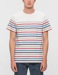 A.P.C. Thick Striped Regular S/S T-Shirt Picutre