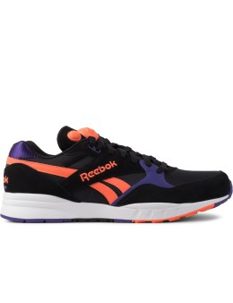 Reebok Black/Violet/Vitamim/White M46719 Pump Infinity Runner Shoes Picture