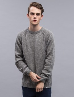 Norse Projects Birnir Shetland Pullover Sweater Picture