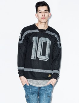 10.DEEP Black Bruisers Polyknit Hockey Jersey Picture