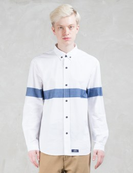 Bleu De Paname Contrast Color Block Shirt Picture