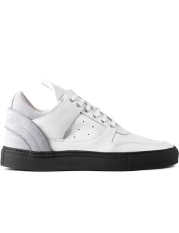 Filling Pieces Ice White Grey/Grey Transformed Low Top Sneakers Picture