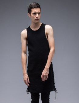 FACETASM Side Lace Up Tank Top Picture