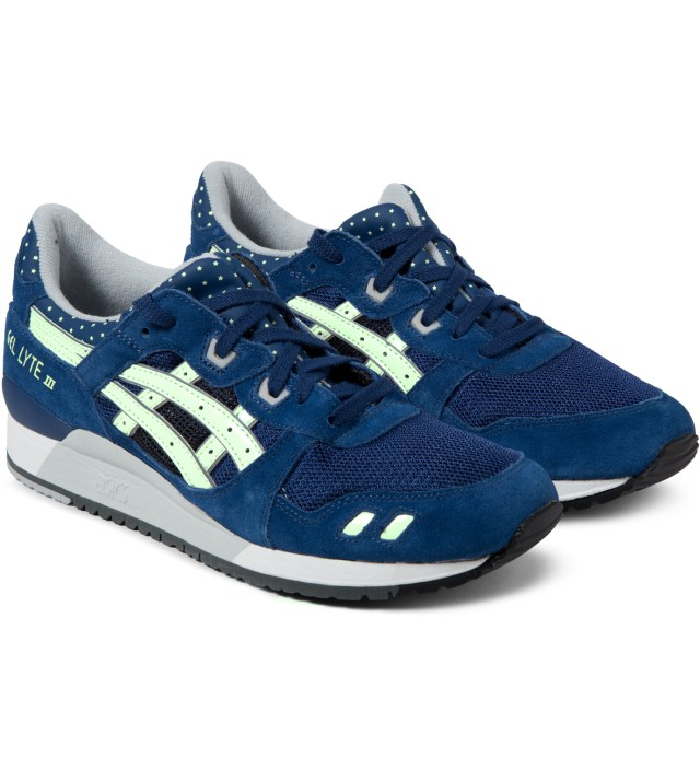 ASICS Estate Blue Asics Gel Lyte III Sneakers
