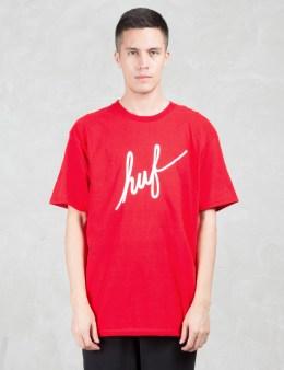 HUF Demi Script S/S T-Shirt Picture