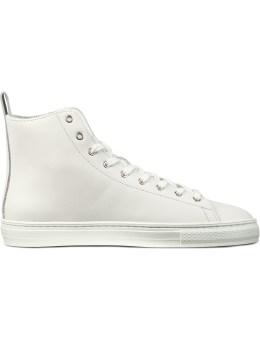 buddy White B.T High Smooth Shoes Picture