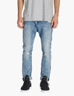 ZANEROBE Indigo Low Blow Denim Pants Picture