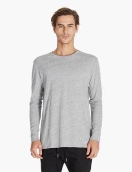 ZANEROBE Grey Flintlock L/s T-shirt Picture