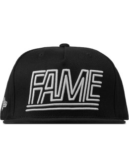 HALL OF FAME Black Fame Lines Cap Picture