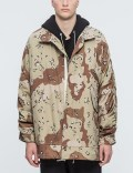 MR.COMPLETELY Cropped Military Parka Picture