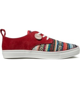 buddy Chup x Buddy Red Corgi Low Chup Shoes Picture