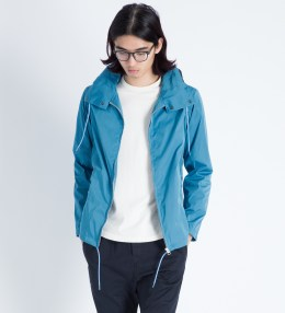 Head Porter Plus Blue Hooded Jacket Picture