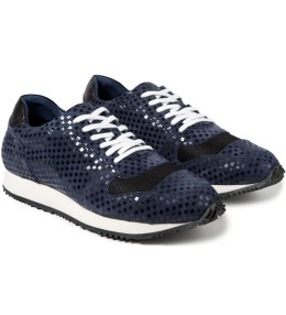 Opening Ceremony Navy Multi Checkered Arrow Sneaker Picture