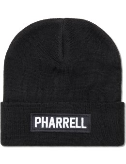 LES (ART)ISTS Black Pharrell Patch Beanie Picture