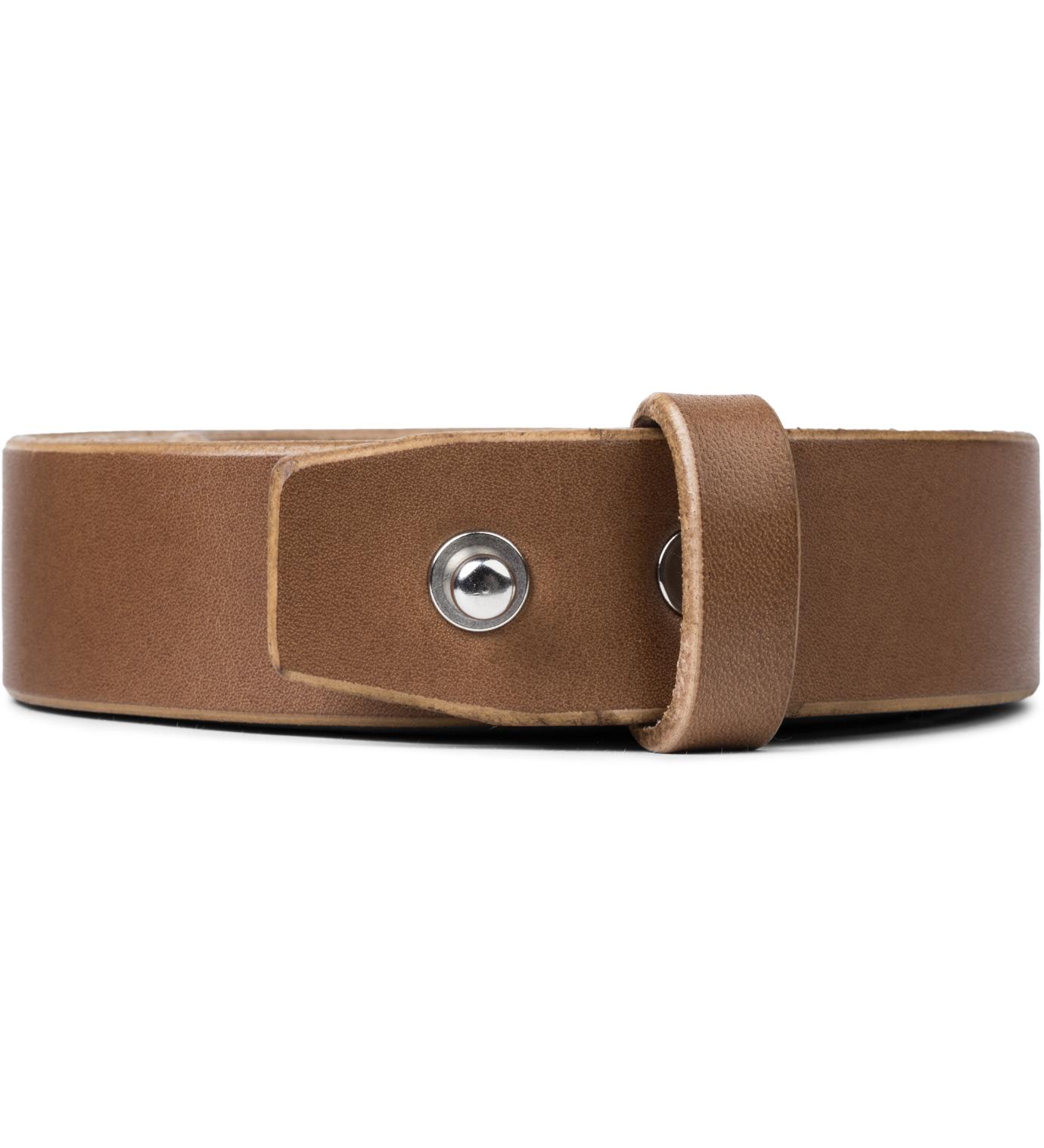 brown cow leather belt hbx