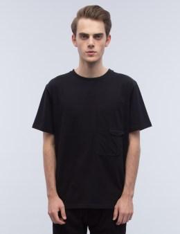 LETASCA Elastic Detail T-Shirt Picture