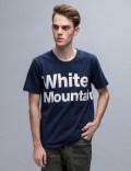 "White Mountaineering ""White Mountai"" Printed S/S T-Shirt Picture"