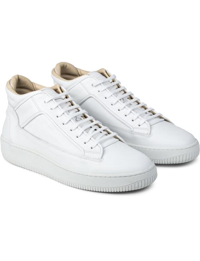etq white mid top 2 sneakers hbx