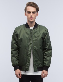Stussy Flight Satin Bomber Jacket Picture
