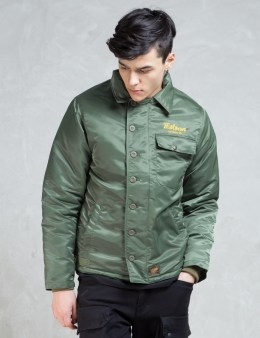 FUCT SSDD Olive High Time Nylon Deck Jacket Picture