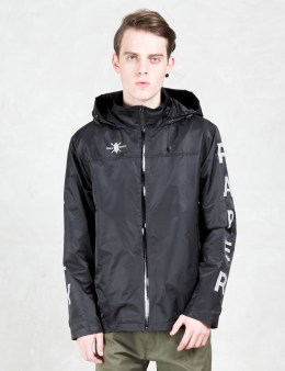 Daily Paper 3m Black Sleeve Logo Windbreaker Jacket Picture