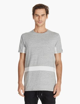 ZANEROBE Grey/white Broken Flintlock T-shirt Picture
