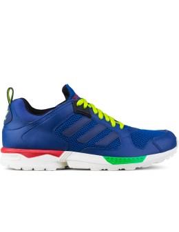 adidas Originals Dark Marine/dark Marine/semi Solar Slime ZX 5000 Rspn Sneakers Picture